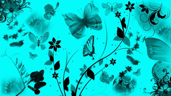 Butterfly Color Effect HD Wallpaper