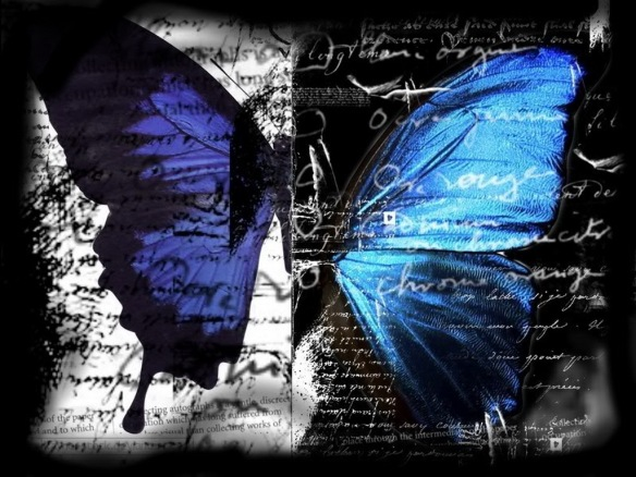 abstract-butterfly-blue-gothic-black-wings-280958